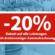 20% Rabatt auf alle Leistungen mit dreimonatiger Sammelrechnung